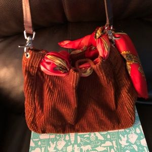 Banana Republic Corduroy Bag